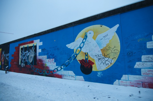 Berlin Wall at East Side Gallery 11
