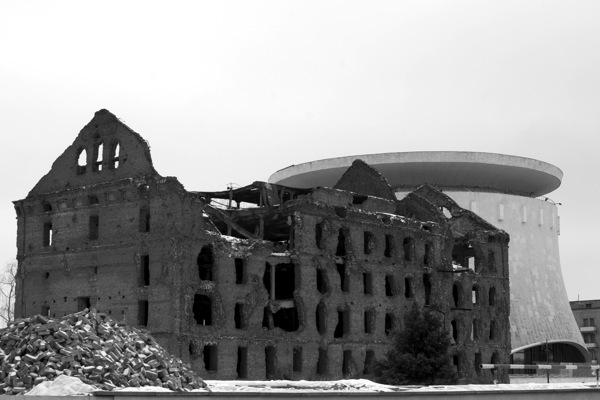 Volgograd  Flour Mill Ruins 8