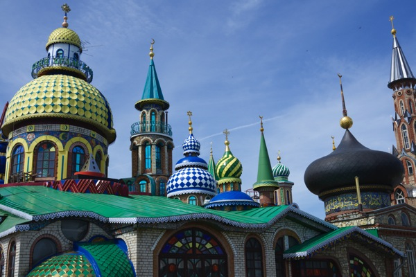 Kazan  Temple of All Religions 3