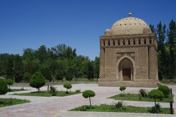 Uzbekistan  Ismail Samani Mausoleum Bukhara 1