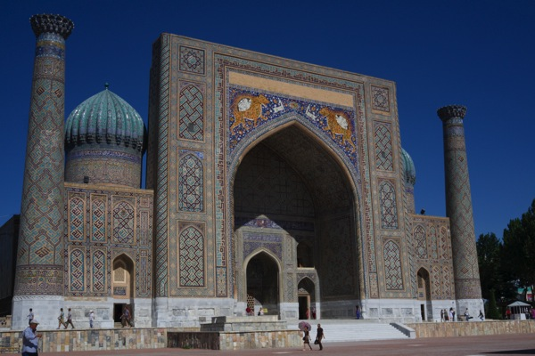 Uzbekistan  Samarkand Registan Complex First Day 22