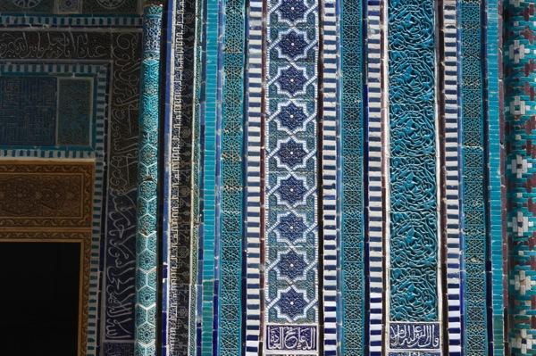 Uzbekistan  Shah i Zinda Complex Samarkand 45