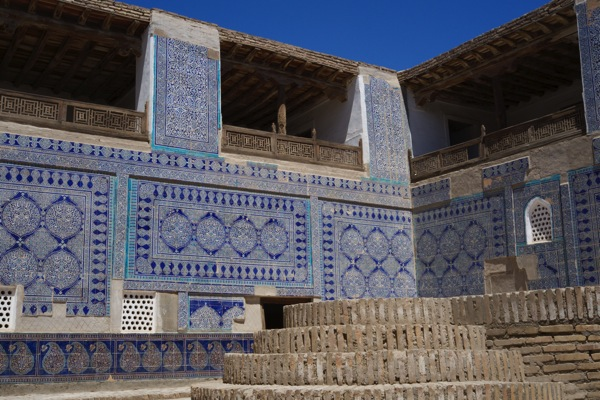 Uzbekistan  Tosh Hauli Palace Khiva 22