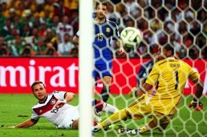 Mariot gotze goal full 20140714