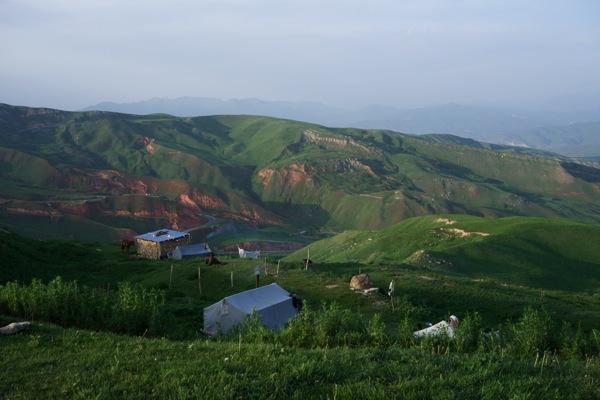 Kyrgyzstan  Osh Area Yurtstay 009